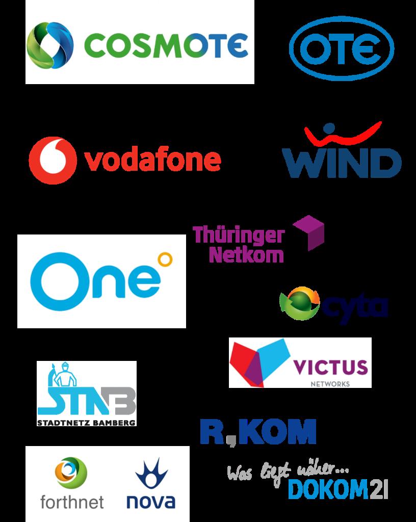 Telecom customers Ergoman
